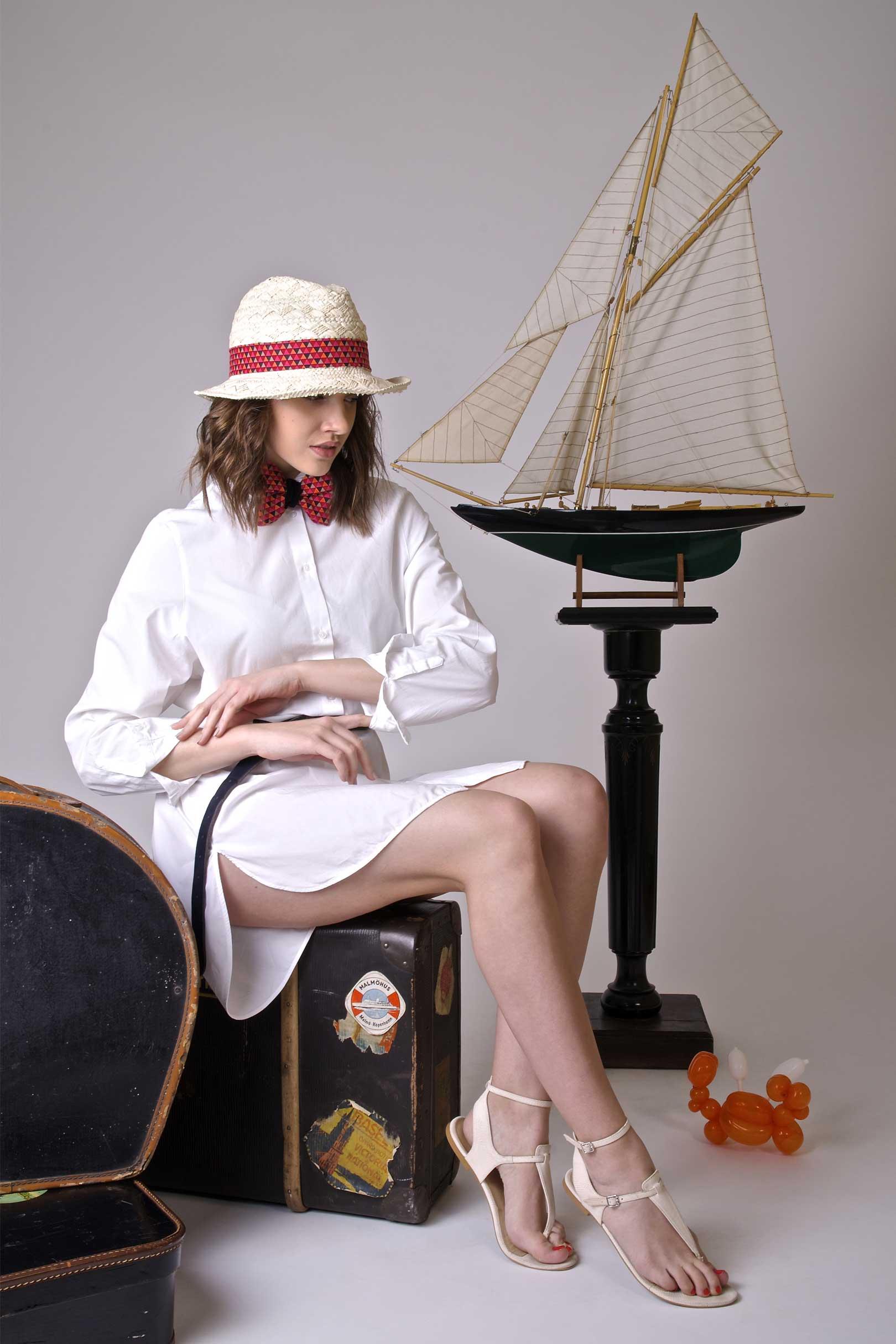 Das Querbinder-Modell 'Madmoiselle P.'.